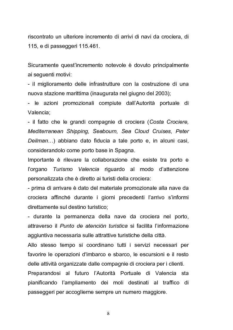 Anteprima della tesi: Il porto di Valencia e gli effetti della America's Cup, Pagina 10