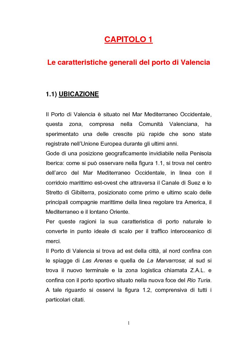 Anteprima della tesi: Il porto di Valencia e gli effetti della America's Cup, Pagina 3