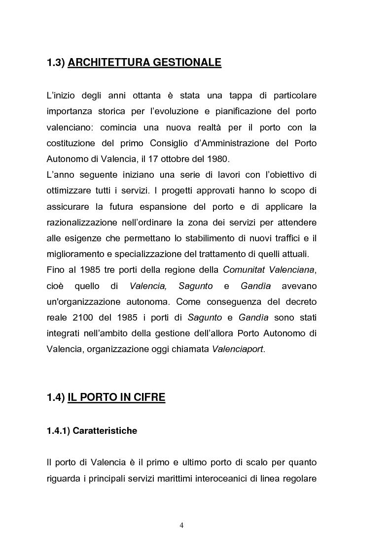 Anteprima della tesi: Il porto di Valencia e gli effetti della America's Cup, Pagina 6