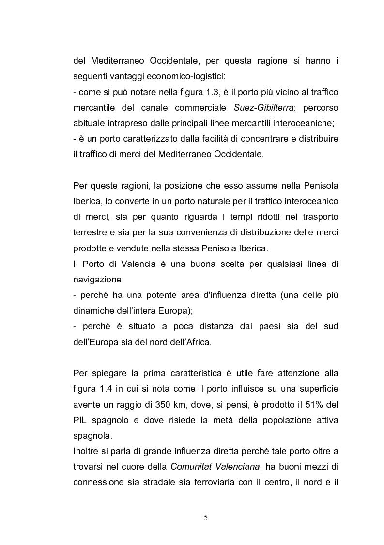 Anteprima della tesi: Il porto di Valencia e gli effetti della America's Cup, Pagina 7