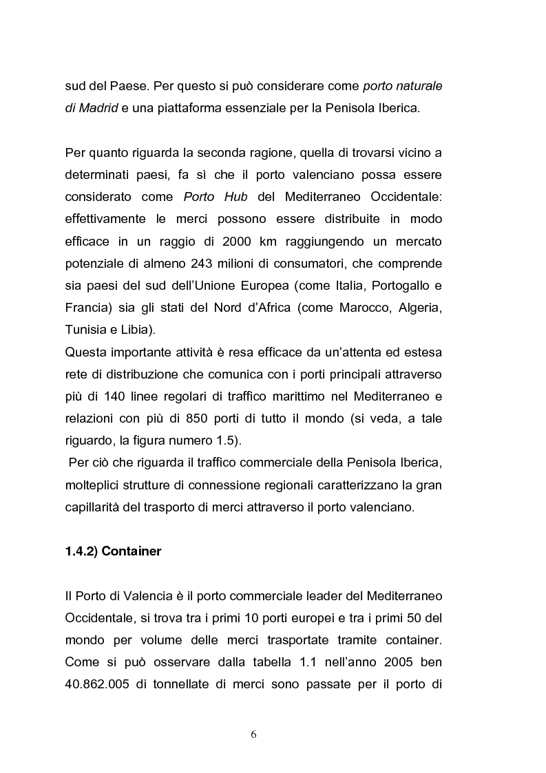 Anteprima della tesi: Il porto di Valencia e gli effetti della America's Cup, Pagina 8