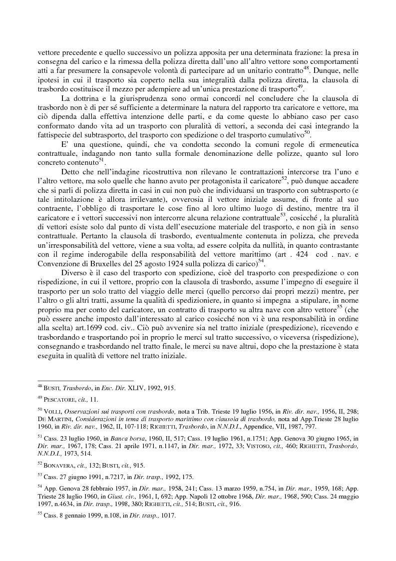 Anteprima della tesi: Le problematiche giuridiche del transhipment, Pagina 11