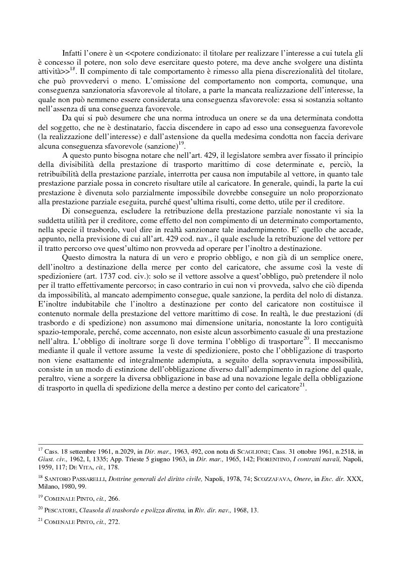 Anteprima della tesi: Le problematiche giuridiche del transhipment, Pagina 7