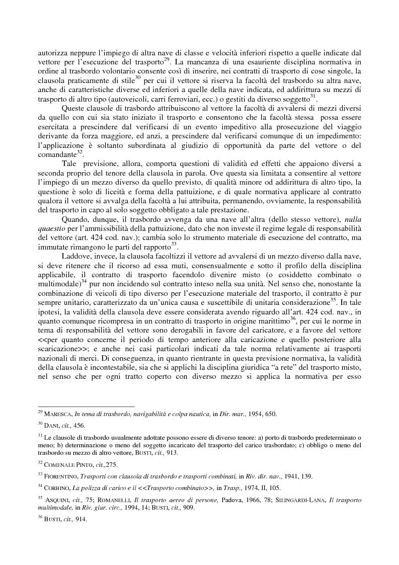 Anteprima della tesi: Le problematiche giuridiche del transhipment, Pagina 9