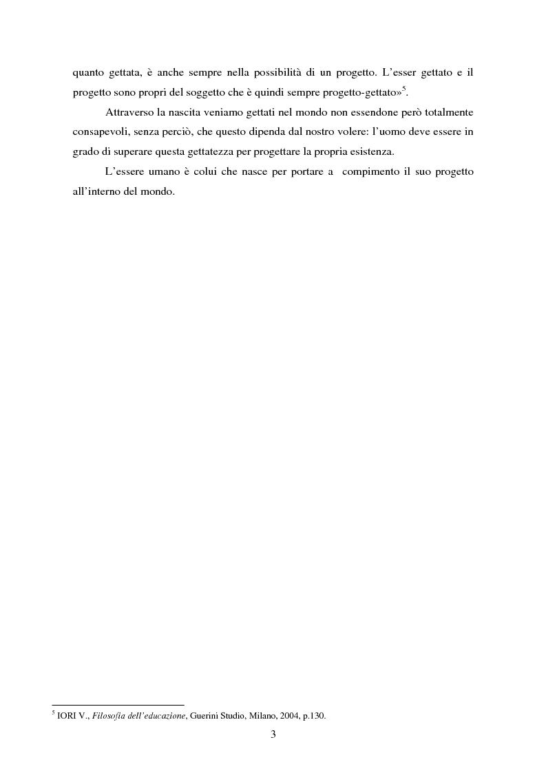 Anteprima della tesi: Parole concave per accogliere rinnovati orizzonti di senso. Il valore della parola nell'esperienza rieducativa del carcere., Pagina 5