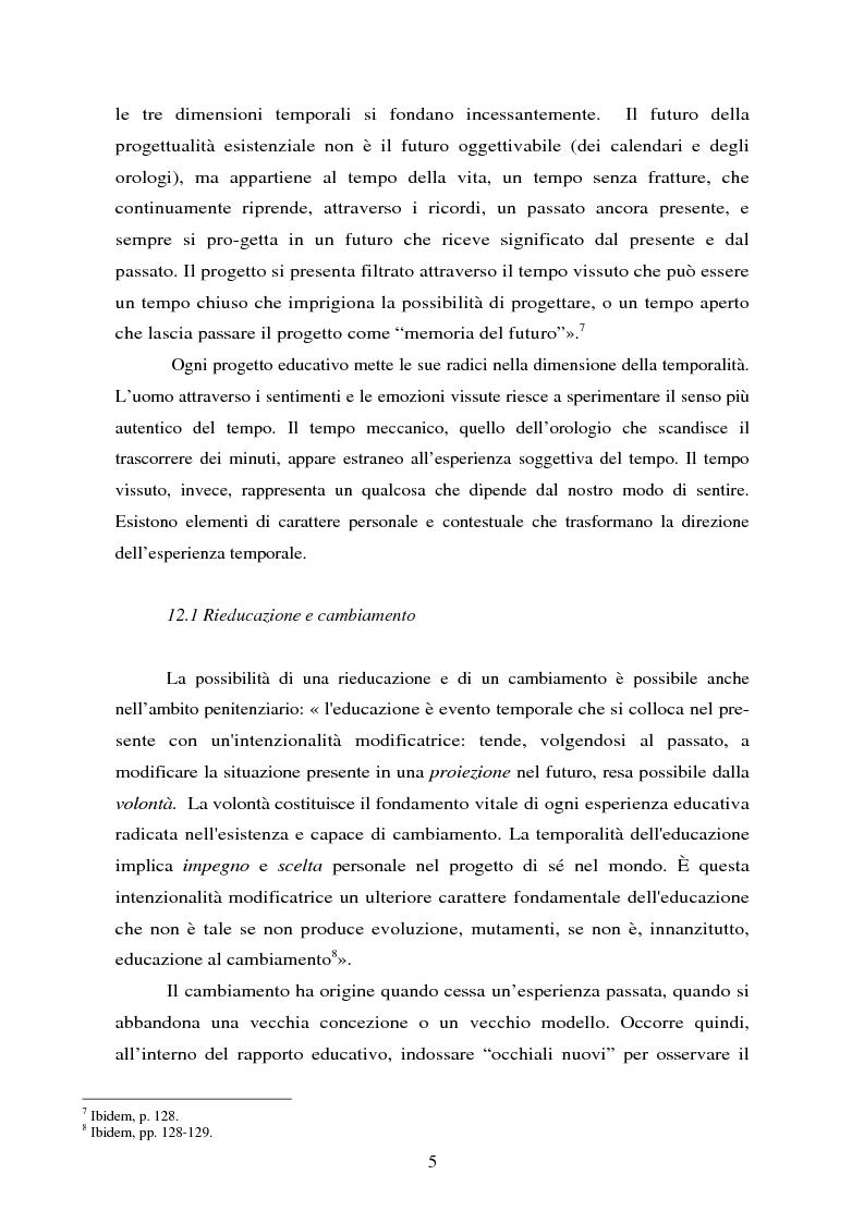 Anteprima della tesi: Parole concave per accogliere rinnovati orizzonti di senso. Il valore della parola nell'esperienza rieducativa del carcere., Pagina 7