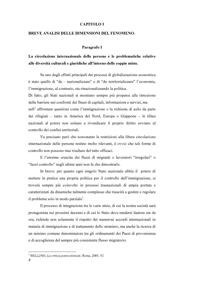 Anteprima della tesi: La sottrazione internazionale di minori nei suoi recenti sviluppi giurisprudenziali, Pagina 1