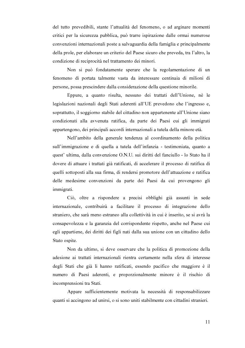 Anteprima della tesi: La sottrazione internazionale di minori nei suoi recenti sviluppi giurisprudenziali, Pagina 8