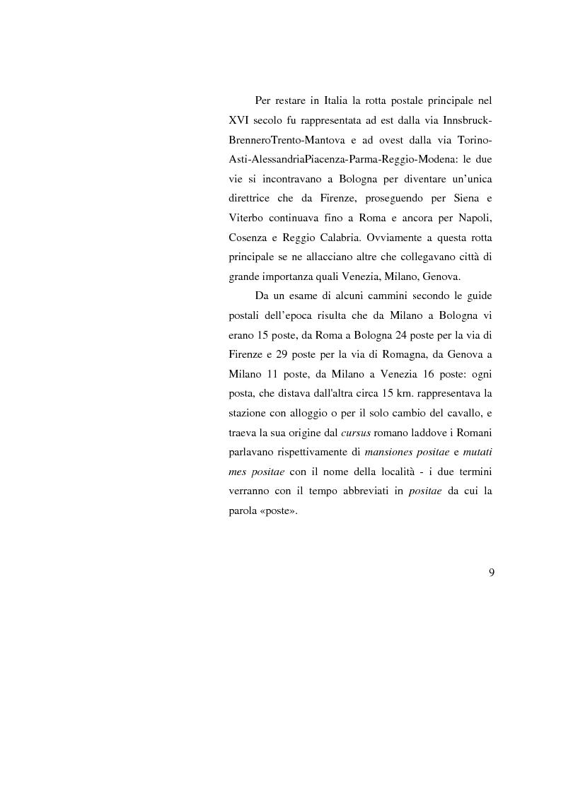 Anteprima della tesi: Poste Italiane: da servizio pubblico a sistema d'impresa, Pagina 7