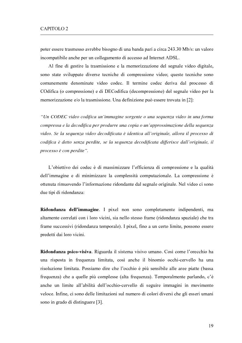 Anteprima della tesi: Adattamento congiunto delle tecniche di codifica di sorgente e delle modalità trasmissive per il trasferimento di segnali video su canale radiomobile, Pagina 11