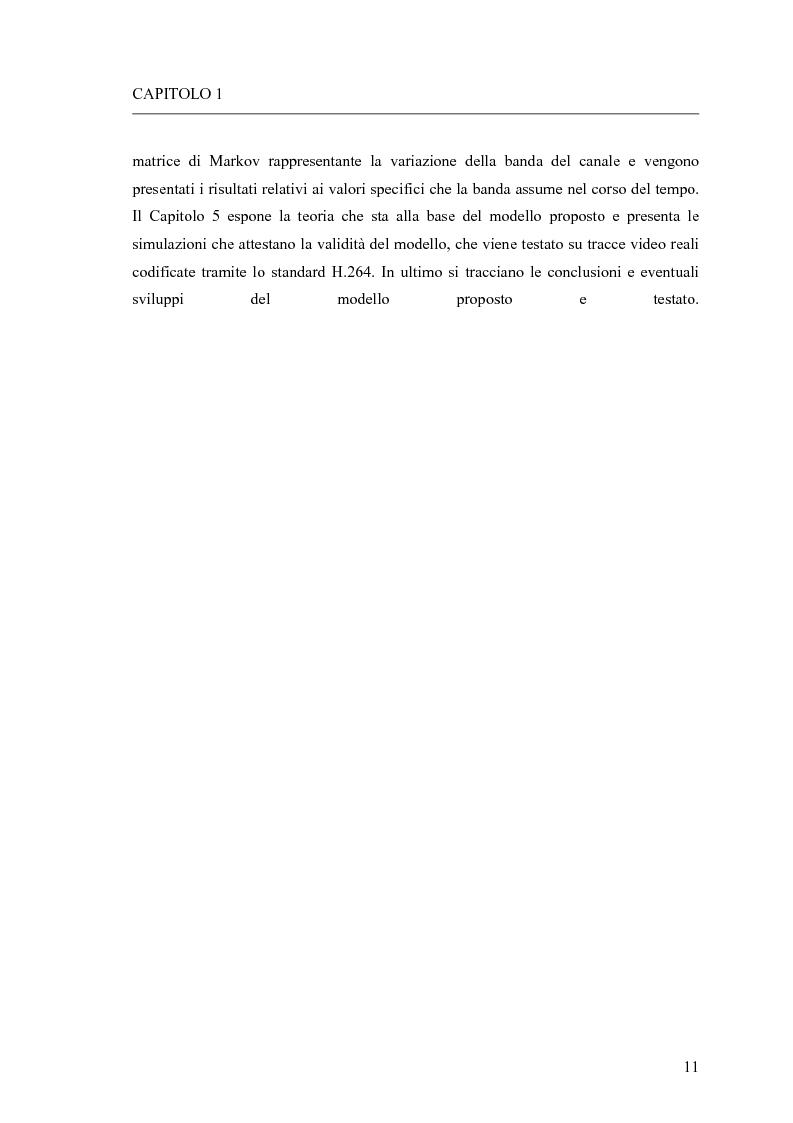 Anteprima della tesi: Adattamento congiunto delle tecniche di codifica di sorgente e delle modalità trasmissive per il trasferimento di segnali video su canale radiomobile, Pagina 3