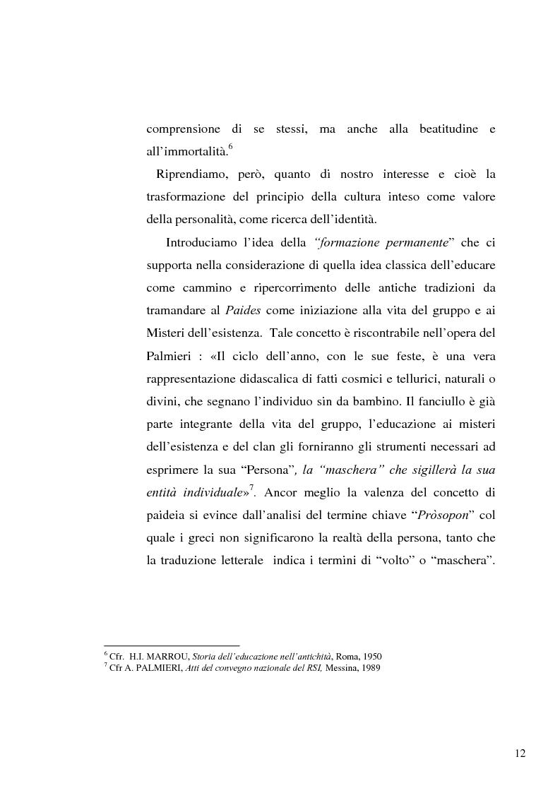 Anteprima della tesi: Il concetto di ''persona'' tra teoria e prassi educative, Pagina 10