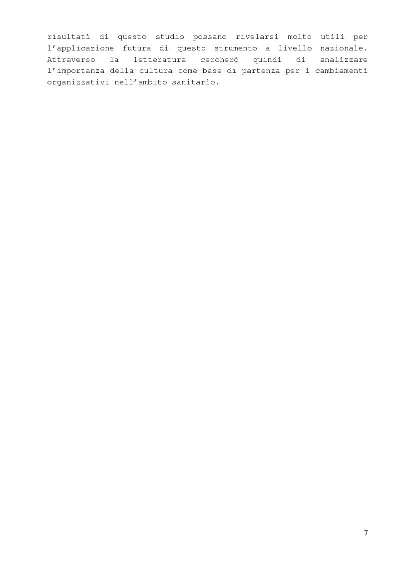 Anteprima della tesi: Dalla percezione del rischio al risk management in sanità, il sistema di incident reporting della Regione Emilia Romagna, Pagina 3