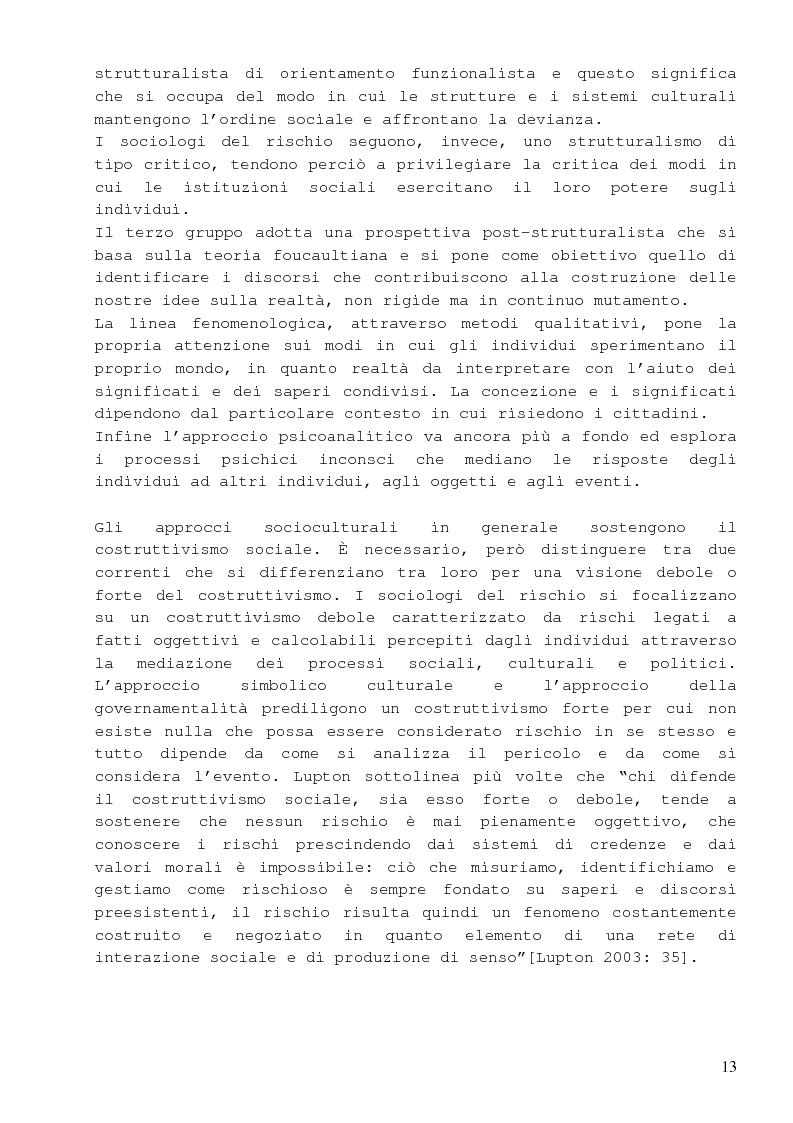 Anteprima della tesi: Dalla percezione del rischio al risk management in sanità, il sistema di incident reporting della Regione Emilia Romagna, Pagina 9