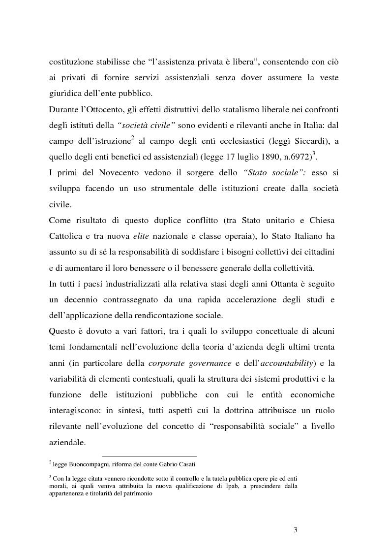 Anteprima della tesi: Organizzazioni non profit: normativa di riferimento e attività di controllo, Pagina 3