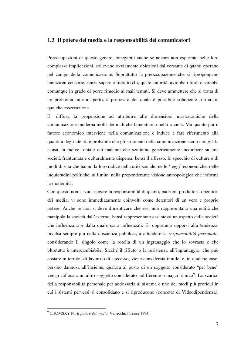 Anteprima della tesi: Il sistema radiotelevisivo tra pubblico e privato. Una proposta di legge di iniziativa popolare, Pagina 10