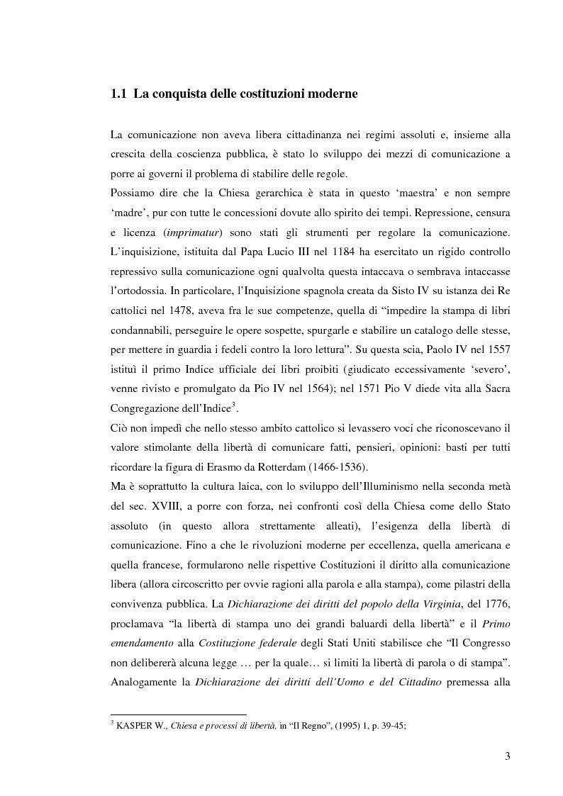 Anteprima della tesi: Il sistema radiotelevisivo tra pubblico e privato. Una proposta di legge di iniziativa popolare, Pagina 6