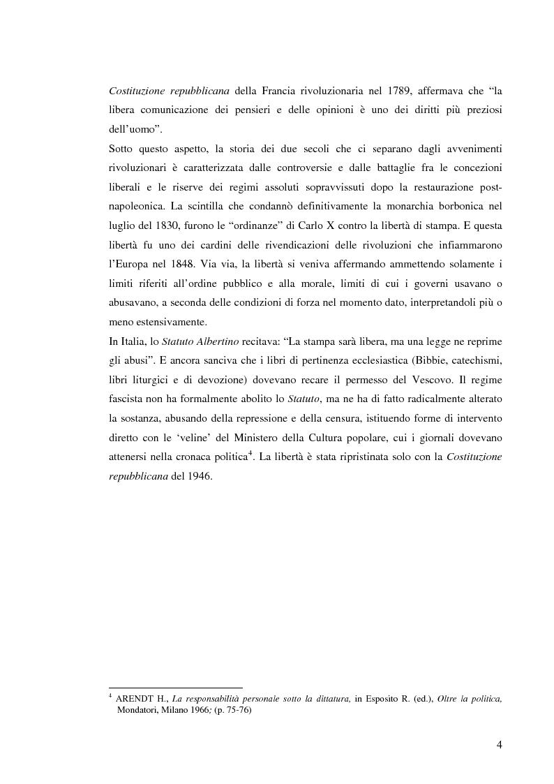 Anteprima della tesi: Il sistema radiotelevisivo tra pubblico e privato. Una proposta di legge di iniziativa popolare, Pagina 7