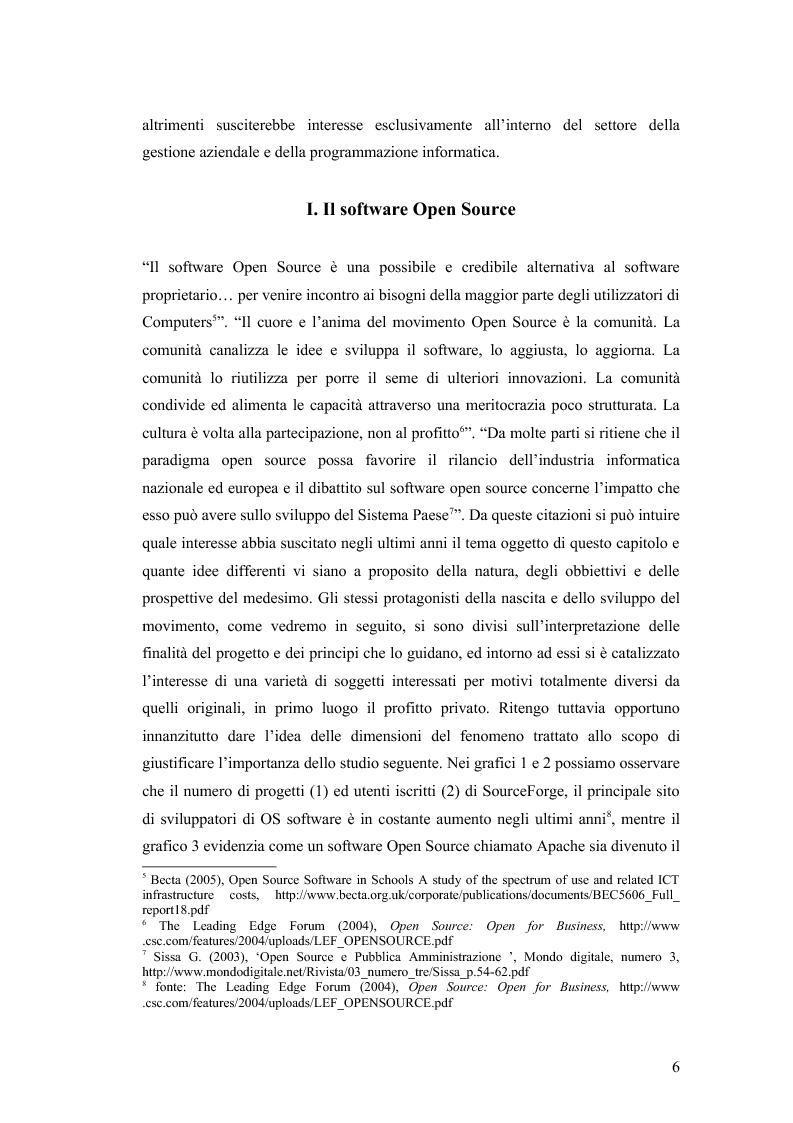 Anteprima della tesi: Total cost of ownership: una comparazione Office - Open Office, Pagina 4