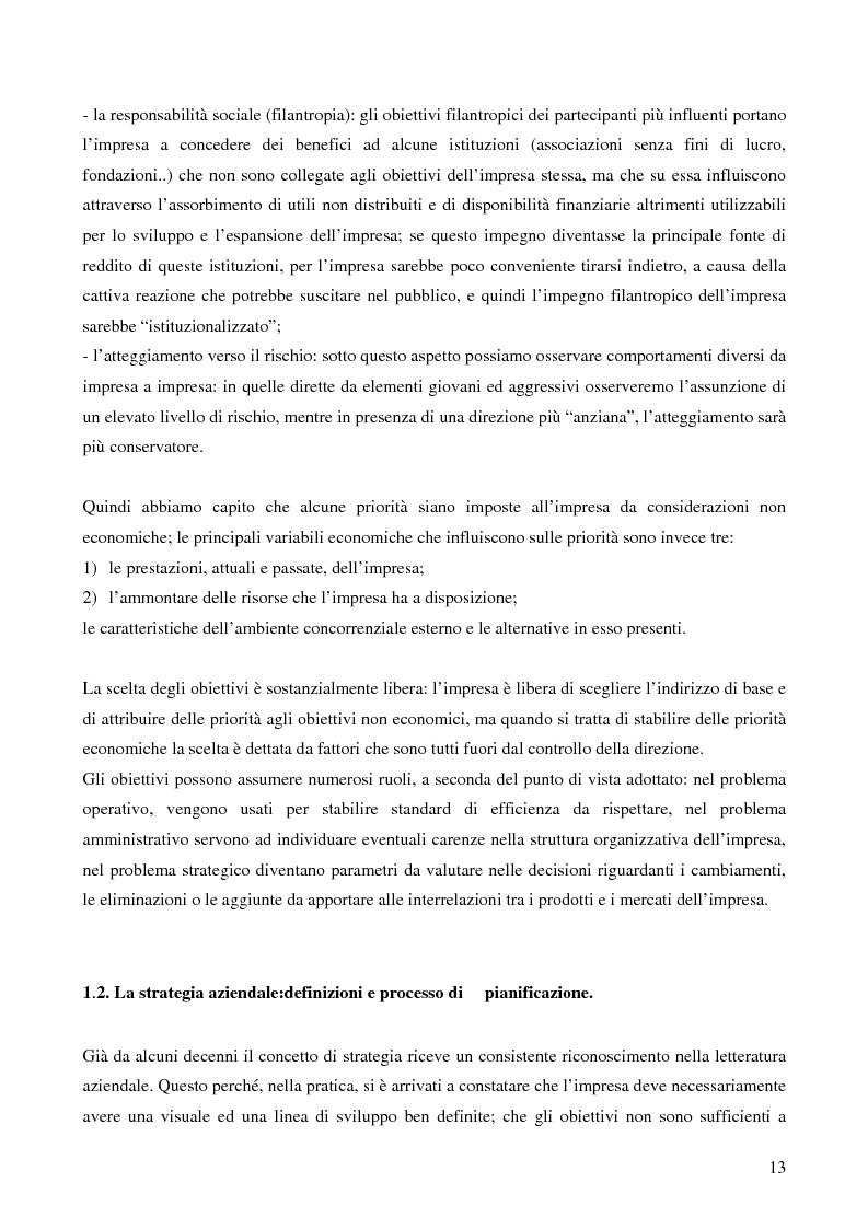 Anteprima della tesi: Le strategie di crescita e sviluppo dimensionale. Il caso Consip S.p.a., Pagina 10