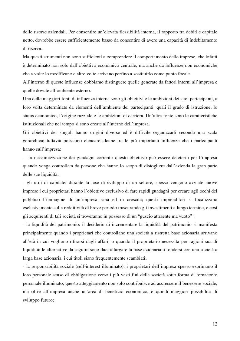 Anteprima della tesi: Le strategie di crescita e sviluppo dimensionale. Il caso Consip S.p.a., Pagina 9