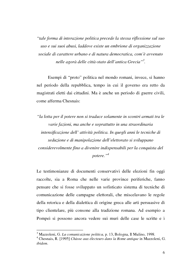 Anteprima della tesi: La comunicazione politica: tra propaganda, pubblicità e marketing, Pagina 4