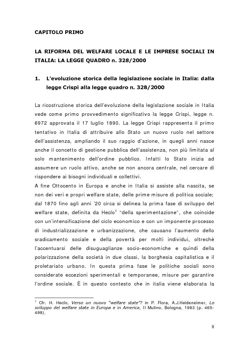 Anteprima della tesi: Fra governance e programmazione partecipata: il Piano Sociale di Zona nel distretto di Sondrio, Pagina 3