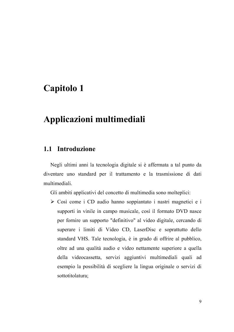 Anteprima della tesi: Progettazione su Chip FPGA VIRTEX-II di un Moltiplicatore SIMD per Applicazioni Multimediali, Pagina 3