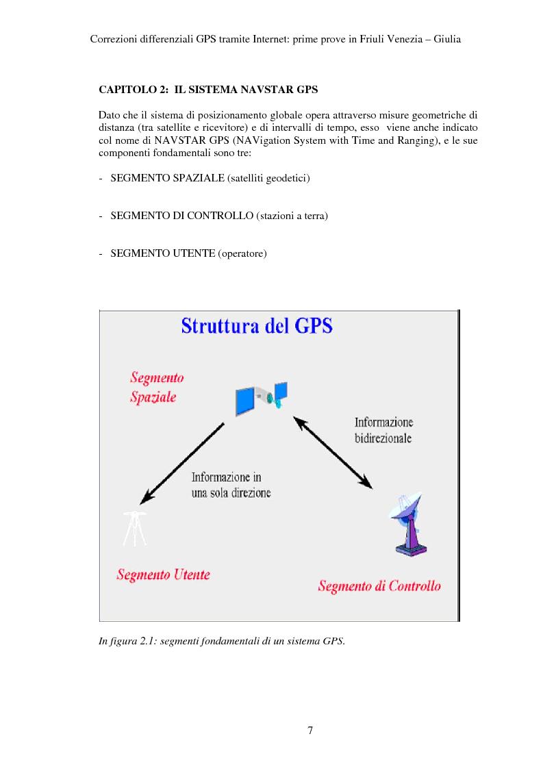 Anteprima della tesi: Correzioni GPS differenziali tramite internet, prime prove in Friuli Venezia Giulia, Pagina 4