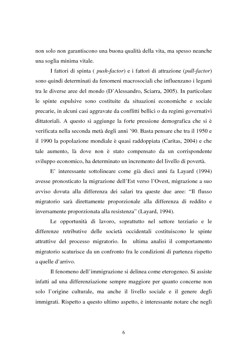 Anteprima della tesi: L'integrazione dei ragazzi stranieri a scuola: dalla multiculturalità all'interculturalità, Pagina 3