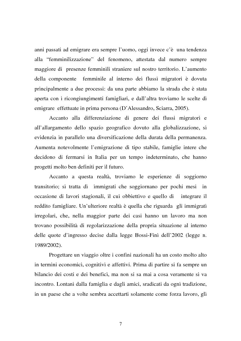 Anteprima della tesi: L'integrazione dei ragazzi stranieri a scuola: dalla multiculturalità all'interculturalità, Pagina 4