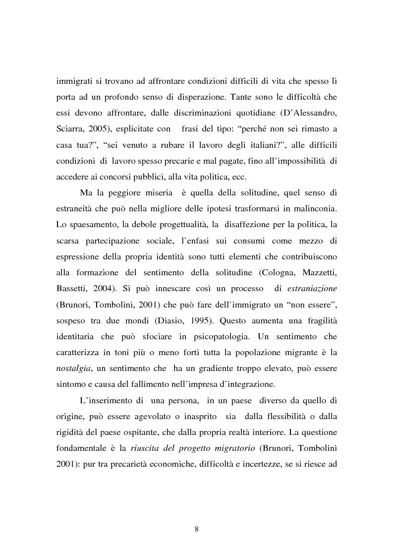 Anteprima della tesi: L'integrazione dei ragazzi stranieri a scuola: dalla multiculturalità all'interculturalità, Pagina 5