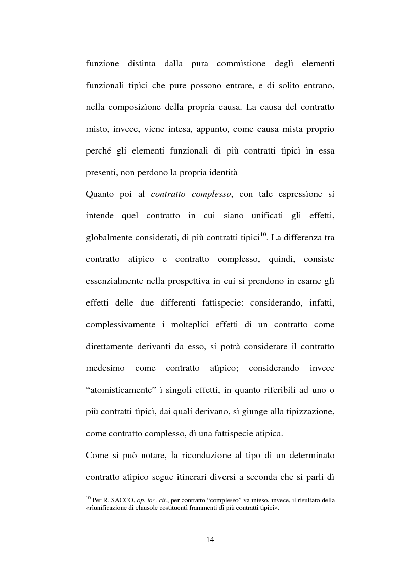 Anteprima della tesi: Il contratto di Franchising, Pagina 10