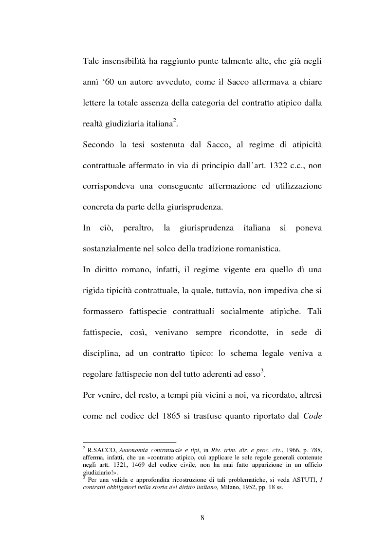 Anteprima della tesi: Il contratto di Franchising, Pagina 4
