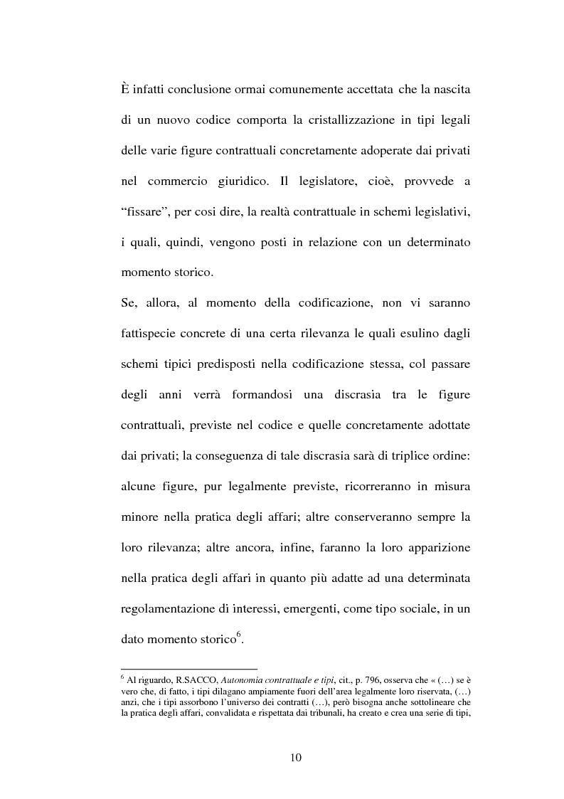 Anteprima della tesi: Il contratto di Franchising, Pagina 6