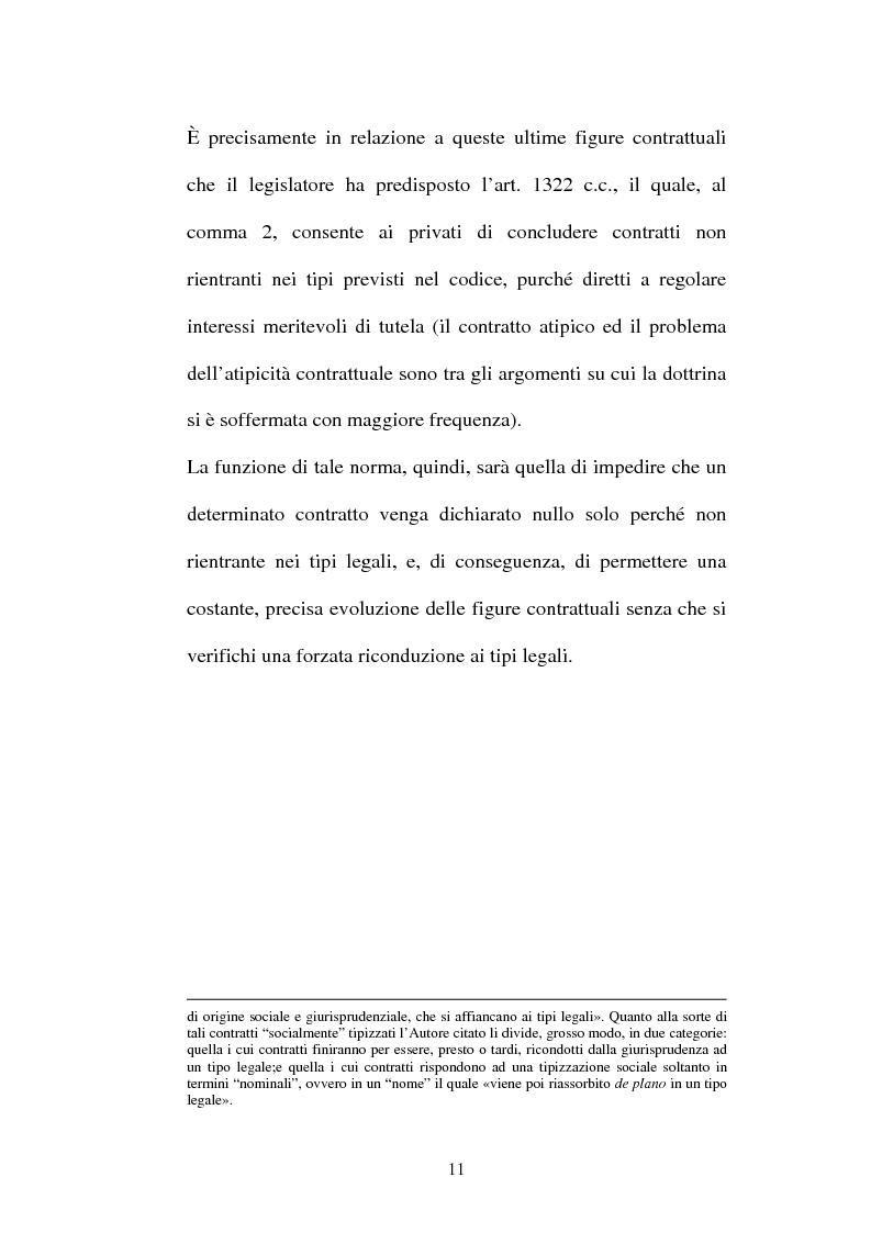 Anteprima della tesi: Il contratto di Franchising, Pagina 7