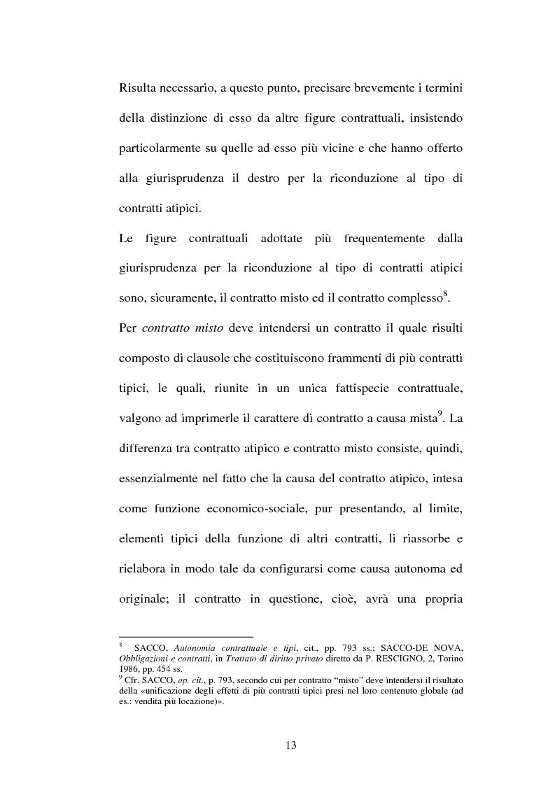 Anteprima della tesi: Il contratto di Franchising, Pagina 9