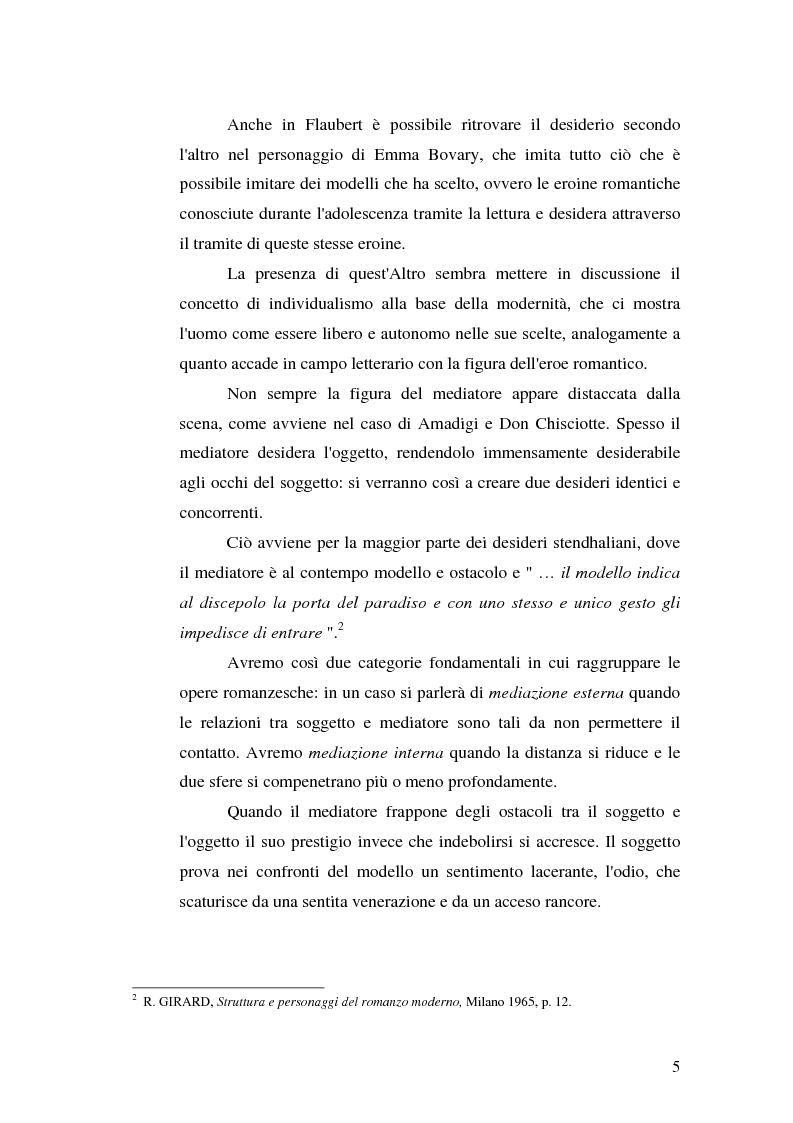 Anteprima della tesi: René Girard e la storia delle religioni: mimetismo e meccanismo vittimario, Pagina 5