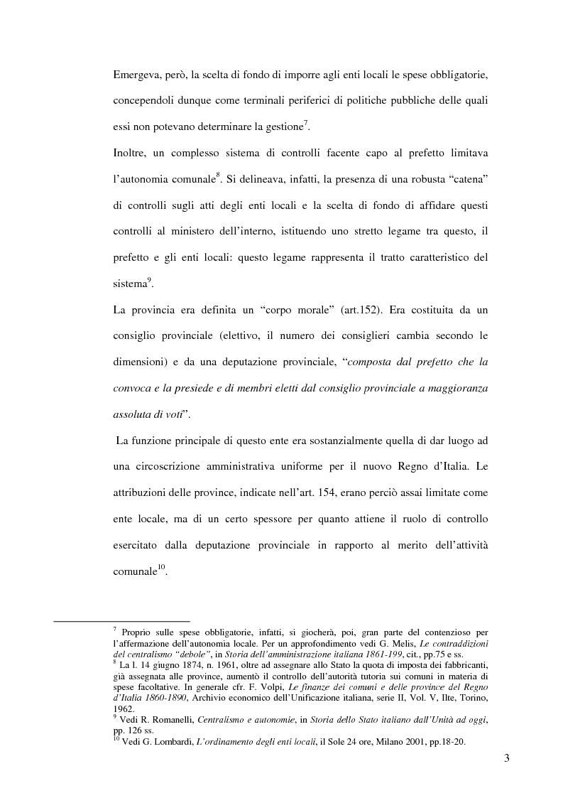 Anteprima della tesi: Associazionismo comunale e competitività territoriale. La gestione consortile dei servizi., Pagina 9