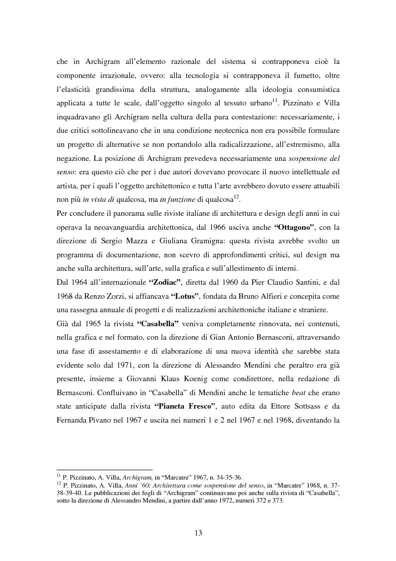 Anteprima della tesi: Superstudio - Progetti e pensieri 1966-1978, Pagina 13
