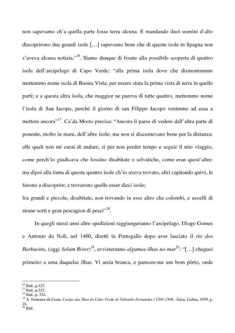 Anteprima della tesi: Il Creolo: lingua madre, simbolo dell'identità culturale nazionale del popolo capoverdiano, Pagina 6