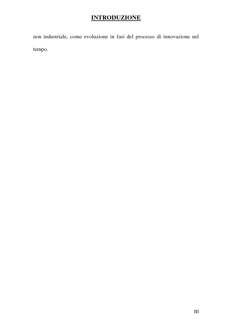 Anteprima della tesi: Strategie innovative e metodologie di appropriazione di una innovazione, Pagina 3