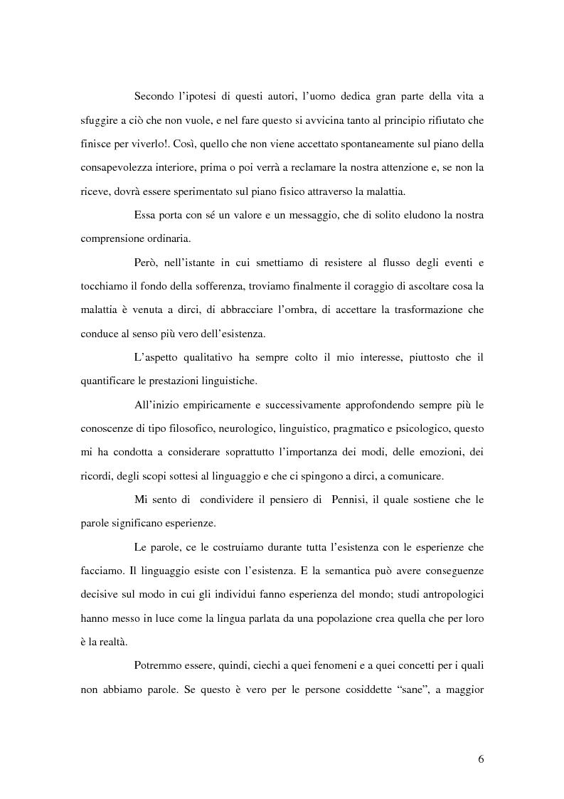 Anteprima della tesi: Counselling e relazione d'aiuto in logopedia: applicazione nell'ambito della terapia con un Traumatizzato Cranio Encefalico, Pagina 3