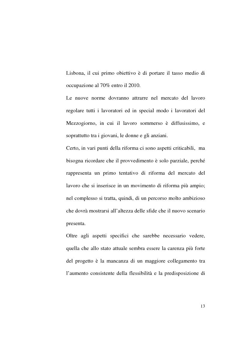 Anteprima della tesi: Il Contratto di Lavoro Intermittente, Pagina 11