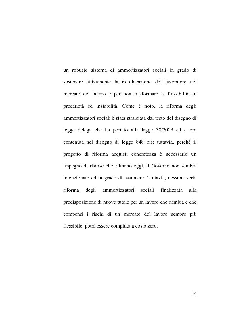 Anteprima della tesi: Il Contratto di Lavoro Intermittente, Pagina 12