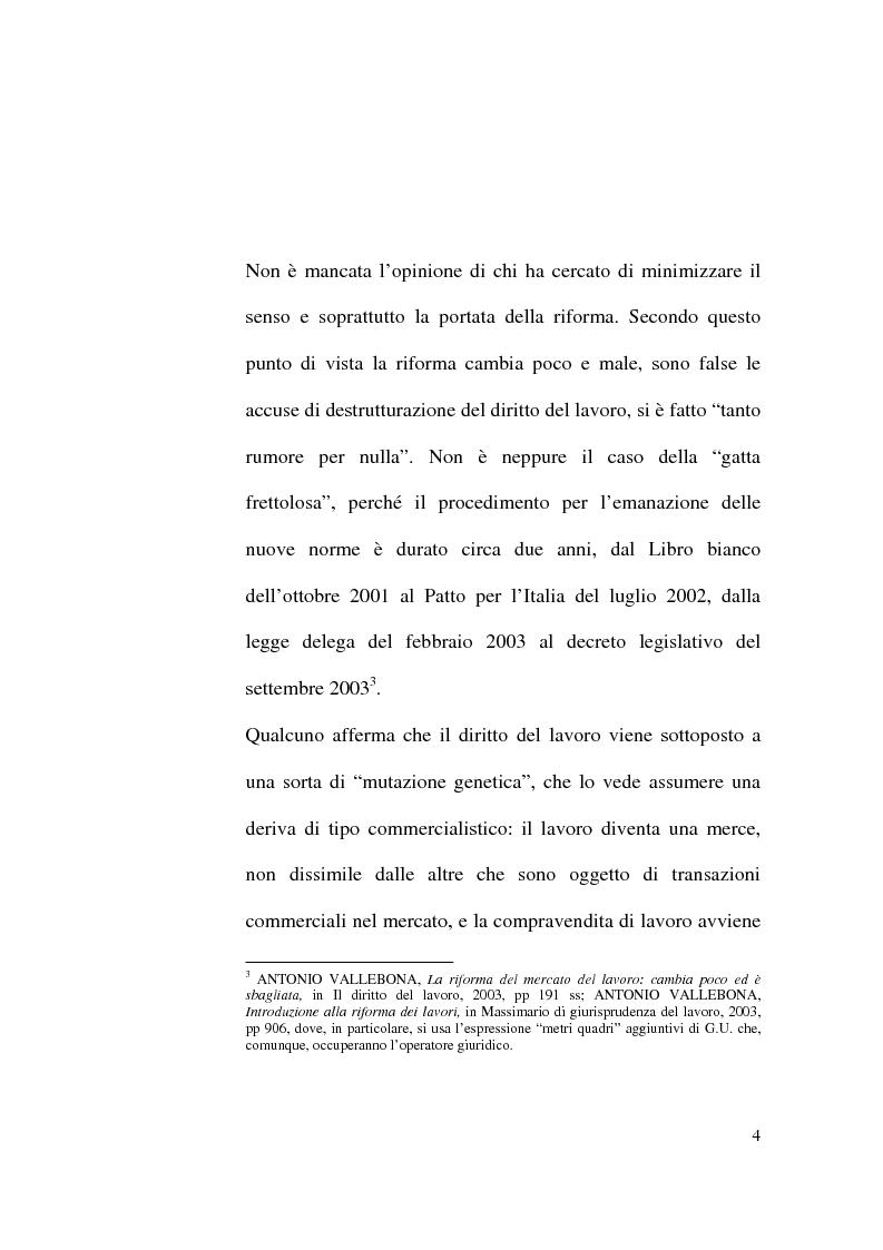Anteprima della tesi: Il Contratto di Lavoro Intermittente, Pagina 2