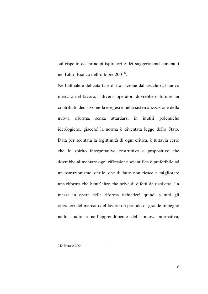 Anteprima della tesi: Il Contratto di Lavoro Intermittente, Pagina 4