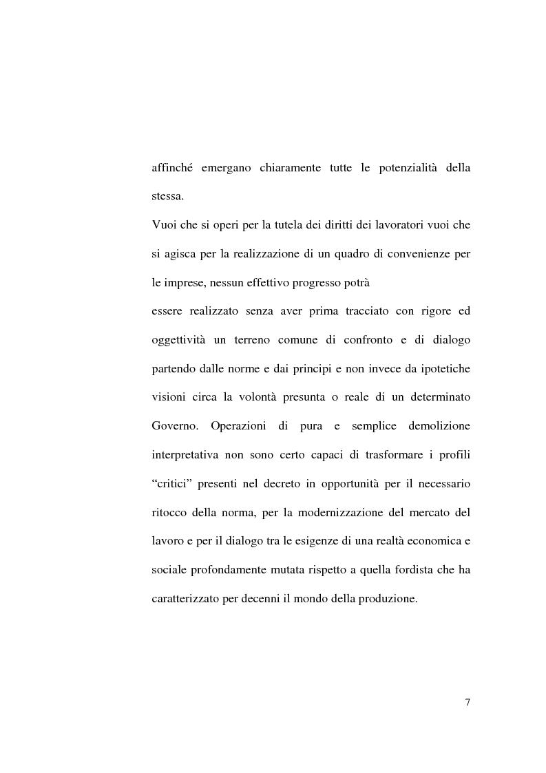 Anteprima della tesi: Il Contratto di Lavoro Intermittente, Pagina 5
