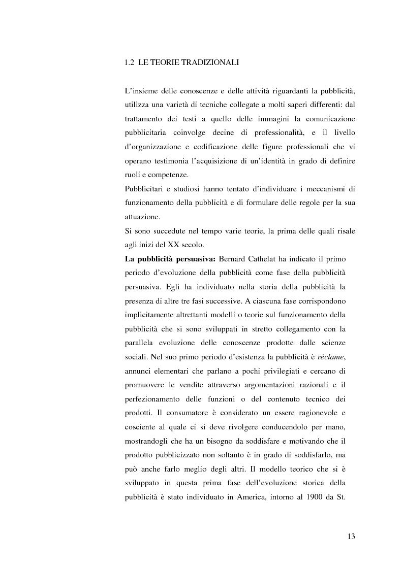 Anteprima della tesi: La pubblicità mitica, Pagina 10