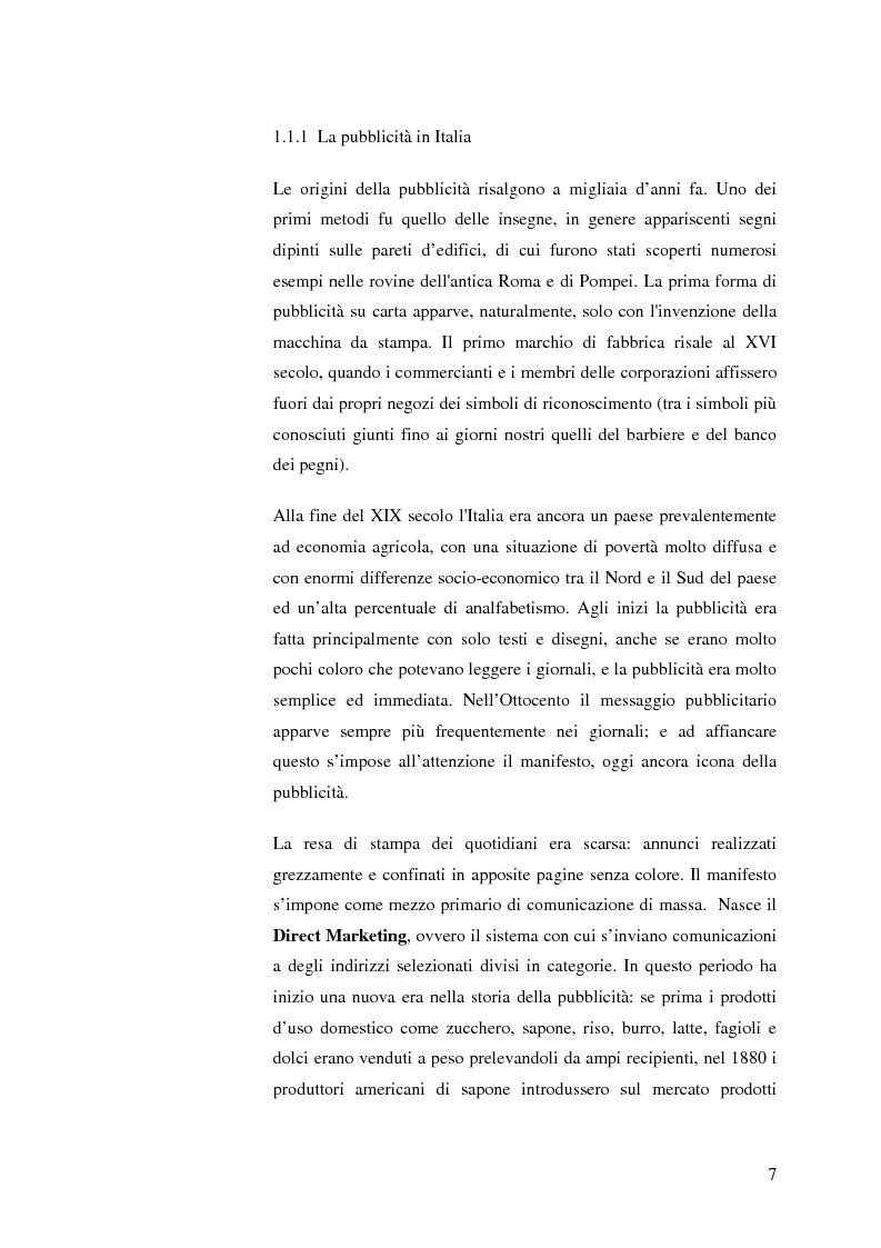 Anteprima della tesi: La pubblicità mitica, Pagina 4